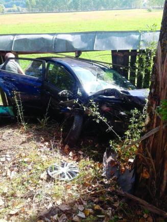 Patru victime intr-un accident rutier