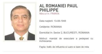 Paul Al Romaniei, dat oficial in urmarire generala. Poza autointitulatului print a fost afisata pe site-ul Politiei Romane