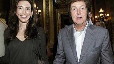 Paul McCartney se casatoreste pentru a treia oara