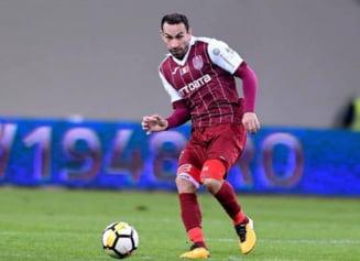 Paulo Vinicius rateaza meciul cu AS Roma. Petrescu, obligat sa improvizeze in aparare