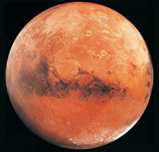 Pe Marte a existat un ocean si ghetari