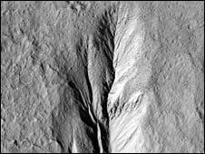 Pe Marte au existat ape curgatoare