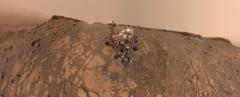 Pe Marte izolarea pare simpla. Cel mai recent selfie trimis de Curiosity (Foto)