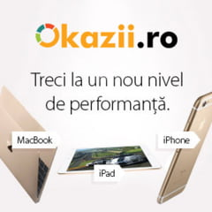 Pe Okazii.ro incepe luna super ofertelor pentru fanii Apple