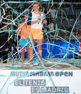 Pe ce loc in clasamentul WTA revine Simona Halep, dupa al 2-lea trofeu la rand cucerit la Madrid