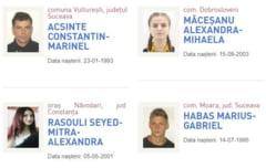 """Pe site-ul Politiei Romane, victimele sunt puse langa infractori. Alexandra si Luiza apar la rubrica """"Persoane Urmarite"""""""
