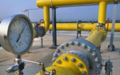 Pe tronsonul Mintia - Brad / Conducta de transport gaz metan