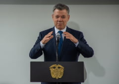 Pe ultima suta de metri a mandatului, presedintele Columbiei a recunoscut Palestina