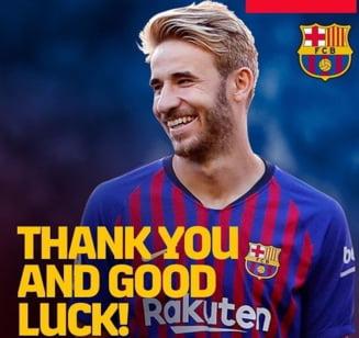 Pe urmele lui Iniesta: Inca un jucator lasa Barcelona pentru a merge in Japonia