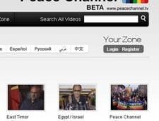 Peace Channel, televiziune online de razboi si pace