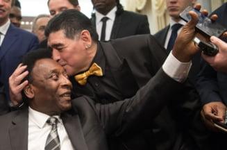 Pele, dupa decesul lui Maradona: Intr-o zi vom bate mingea impreuna in cer