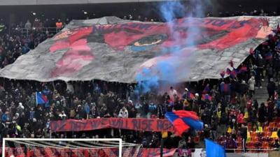 Peluza Ros-Albastra, mesaj dur dupa ultimele meciuri slabe ale Stelei: Daca voi nu ne vreti, nu mai venim