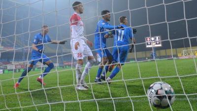 Penalty ratat, goluri marcate din ofsaid! Cât s-a terminat Universitatea Craiova - Sepsi