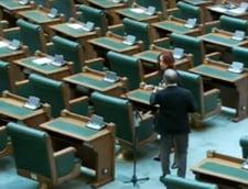 Pensii speciale pentru functionarii din Parlament - primul aviz favorabil (Video)