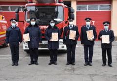 Pensionari in randul pompierilor olteni