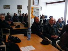 Pensionarii orsoveni s-au intalnit cu prefectul