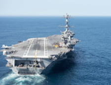 Pentagonul a trimis un portavion si doua bombardiere pentru a proteja retragerea trupelor NATO din Afganistan