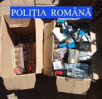 Perchezitie la Tamaseni, peste 8.000 de tigari confiscate