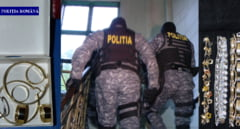 Perchezitii in Mures. Politistii au confiscat 11 kg de aur, bunuri si bani de la contrabandisti