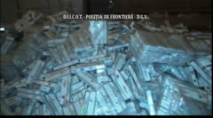 Perchezitii in Vrancea la doua depozite unde se ascundeau tigari de contrabanda