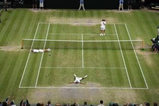 Perechea care a trecut dramatic de Tecau si Rojer la Wimbledon a triumfat intr-o finala nebuna, dupa 5 ore de tenis