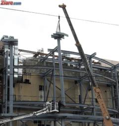 Peretele unui liceu a cazut la furtuna, desi fusese recent reabilitat cu 2,5 milioane de euro