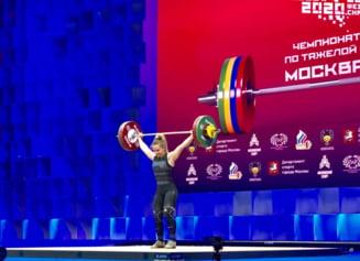 Perfomanta uluitoare la Campionatul European de haltere. A saptea medalie de aur pentru Romania