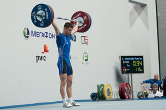 Performanta exceptionala: Florin Croitoru, dublu campion european la haltere