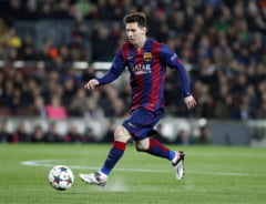 Performanta incredibila pentru Messi in tricoul Barcelonei