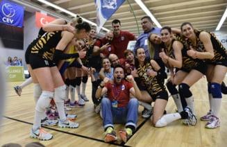Performanta istorica pentru sportul romanesc, umbrita de o situatie penibila: Jucam finala europeana intr-un mall