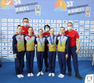 """Performanta uluitoare obtinuta de Romania la Europeanul de gimnastica: 6 medalii de aur. """"Este unicat"""""""
