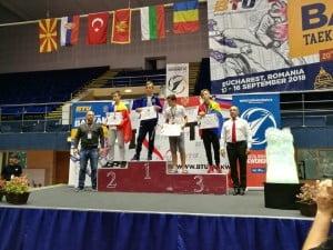 Performante ale sportivilor din Botosani la Campionatului Balcanic de Taekwondo