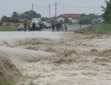 Pericol de inundatii: Vezi judetele vizate de cod galben