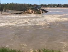 Pericol de inundatii istorice in SUA, dupa ce doua baraje s-au spart (Video)