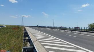 Pericol pe Autostrada Nadlac-Arad: Soferii fac manevre riscante din cauza unui indicator