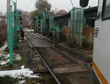 Periile pentru curatat tramvaie nu pot fi folosite pe frig