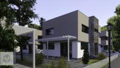 Perla din nordul Capitalei - Il Giardino Bianco, ansamblul de vile ce gazduieste aproape 100 de familii