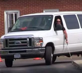 Persoane incadrate cu handicap grav de vedere au obtinut permise de conducere in Alba