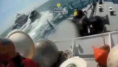 Pescador turcesc, venit la braconat, scufundat in largul Marii Negre, in dreptul statiunii Costinesti