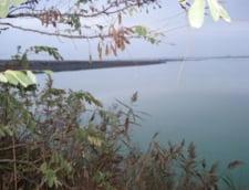 Pescar inecat intr-un lac, la Navodari