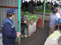 Peste 1.000 de kilograme de carne, legume si fructe, confiscate de politisti in weekend
