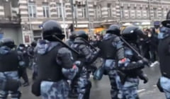 Peste 1.600 de arestari in Rusia. Reactia Marii Britanii