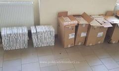 Peste 10.000 pachete cu tigari, confiscate la granita cu Ucraina