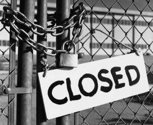 Peste 100.000 de firme au fost inchise in ultimele 6 luni
