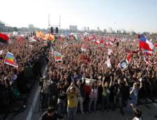 Peste 100 de studenti, arestati in Chile
