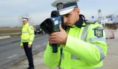 Peste 170 de vitezomani amendati zilnic de Politia rutiera Alba. Sunt vizate in special DN1 si DN7