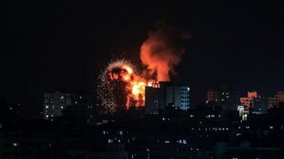 """Peste 200 de rachete lansate din Fasia Gaza catre Israel. Armata israeliana: """"Am omorat 15 teroristi Hamas si am lovit 130 de tinte"""""""