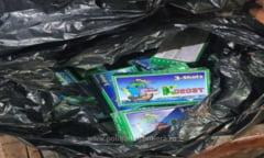 Peste 25.000 de materiale pirotehnice, fara documente legale, descoperite la Vama Giurgiu