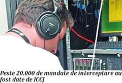 Peste 3.000 de interceptari, anual