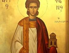 Peste 400.000 de romani isi sarbatoresc onomastica de Sfantul Stefan